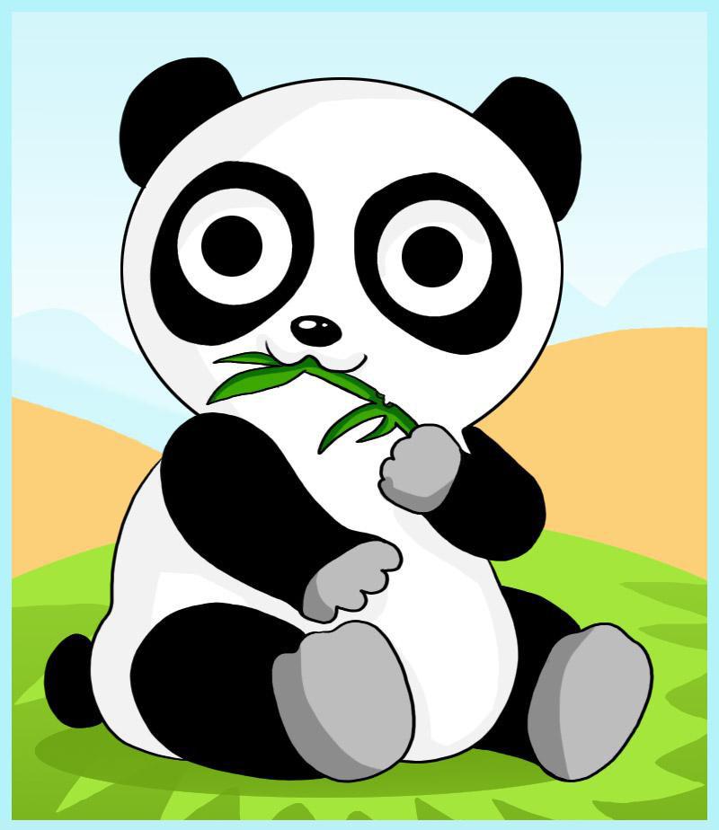 Dessin De Panda Facile